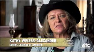 Legends Founder/Editor Kathy Weiser-Alexander on AHC's Gunslingers