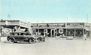 Peach Springs, Arizona Trading Post