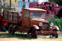 A rusty truck in Elk City, Ks. Photo by Dave Alexander