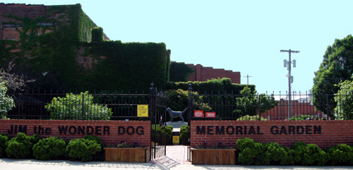 Jim the Wonder Dog Memorial Garden, Marshall, Missouri