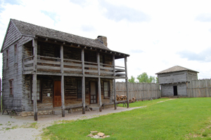 Fort Osage in Sibley Missouri
