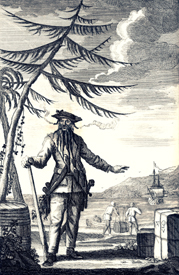 Edward Teach was better known as the infamous pirate Blackbeard