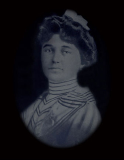 Miss Kate Arnold. Photo courtesy of the Sheridan Inn